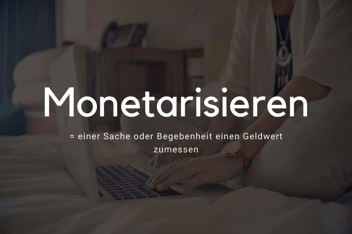 blog monetaisieren