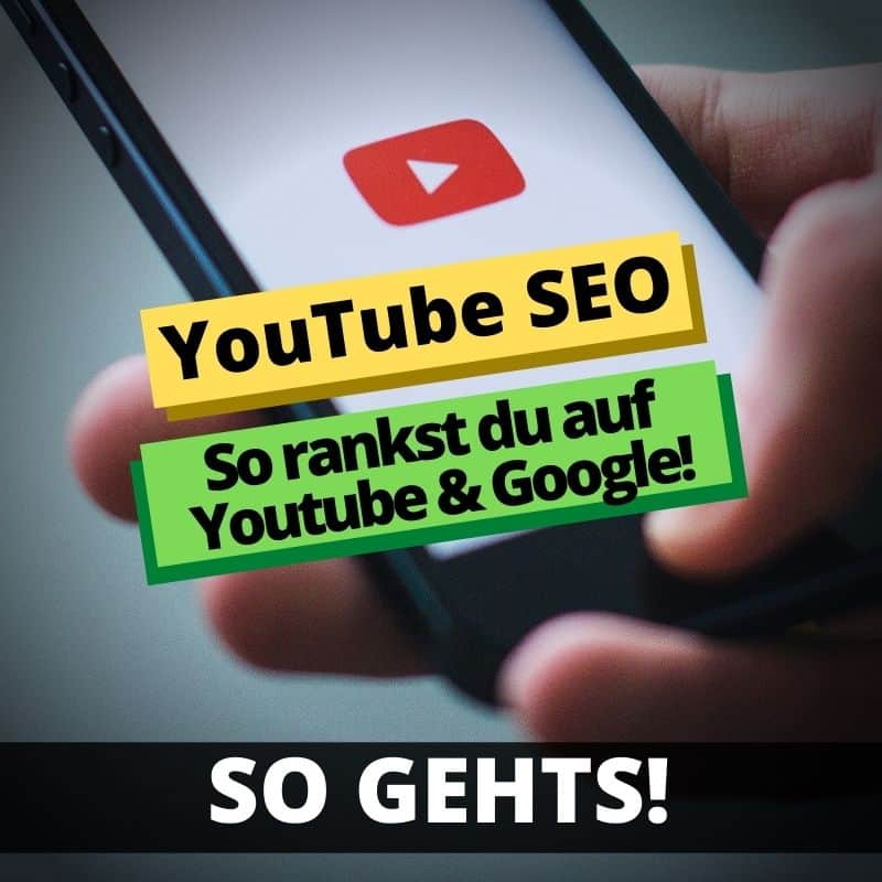 "Featured image for ""YouTube SEO: Ranke Nummer 1 in der Suche auf YouTube & Google!"""